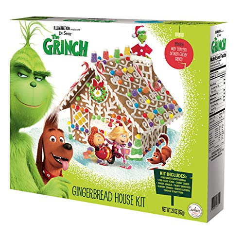 House Kit Gingerbread - The Grinch Gingerbread House Kit by Illumination | 29 Ounces