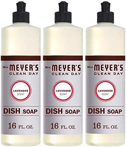Mrs. Meyer´s Clean Day Dish Soap, Lavender, 16 fl oz, 3 ct