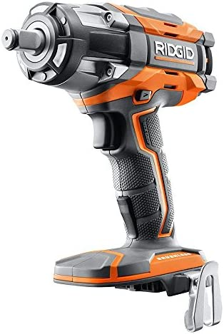 Ridgid R86011B OCTANE 18V Lithium Ion Cordless 1 2 Inch Impact Wrench w Belt Clip Battery Not Included, Bare Tool Only