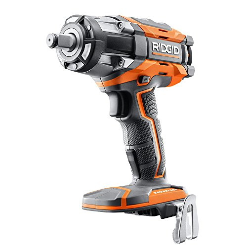 Ridgid R86011B OCTANE 18V Lithium Ion Cordless 1 2 Inch Impact Wrench w Belt Clip Battery Not Included