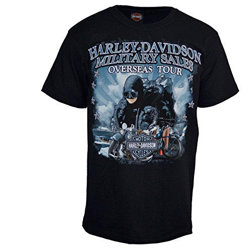 Harley Davidson Military SalesT Shirt Custom Leatherneck