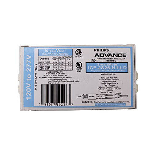 Advance 10289 - ICF-2S26-H1-LD Compact Fluorescent ()