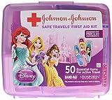 Johnson & Johnson Red Cross Brand Safe Travels First Aid Kit Featuring Disney Princess