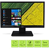 Monitor Acer LCD Widescreen 19.5´ HDMI, VGA 5 ms, HD, V206HQL