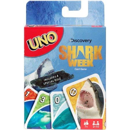 UNO Discovery Shark Week Version a Special Rule!