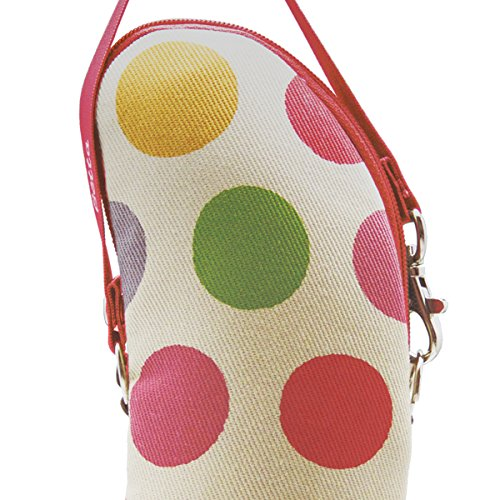 Dr. Betta Insulated Bottle Tote - Polka dots by Dr. Betta (Image #2)