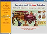 1946 1947 1948 1949 1950 1951 1952-1962 Jeep Willys Station Wagon ad CD 100+ ads