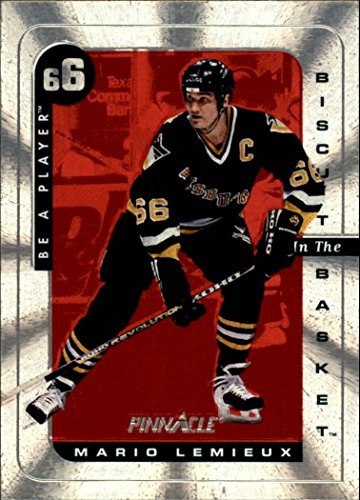 1996-97 Be A Player Biscuit In The Basket #2 Mario Lemieux - Penguins