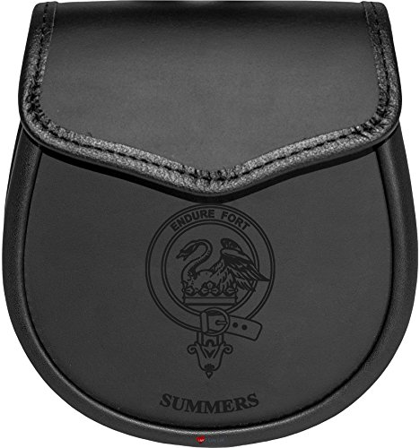 Summers Leather Day Sporran Scottish Clan Crest by iLuv