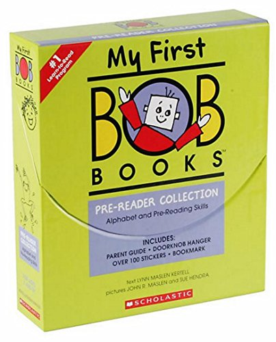 BOB Books MY FIRST Pre-Reader COLLECTION [ALPHABET AND PRE-READING SKILLS]