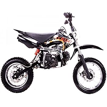 51zPBlc5tHL._SL500_AC_SS350_ amazon com dirt bike 125cc semi auto clutch, blue automotive 90Cc Dirt Bike at virtualis.co