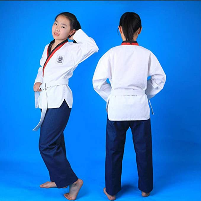 dududrz Dobok Taekwondo Donna V Collo Cómodo Suelto Judo ...