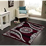 "Vram Velvet Carpet & Area Rug |Drawing Room, Office,Living Room, Hall,Yoga Anti Skid Carpet- |60"" inch x 84"" inch 