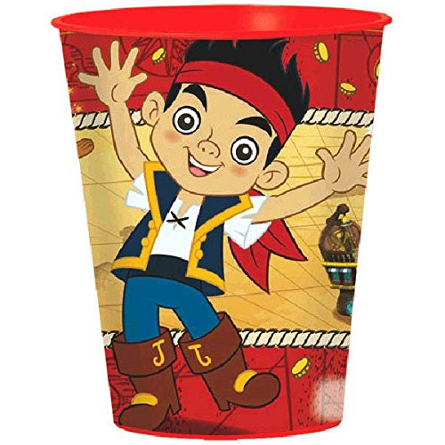 American Greetings Jake and the Never Land Pirates 16-Ounce Plastic Party Cup, Party Supplies -