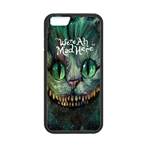 iPhone 6 Case,iPhone 6 (4.7) Case Protective,Alice in Wonderland Protection Hard Case for iPhone 6 (4.7) Soft Flexible TPU material for iPhone 6 wangjiang maoyi
