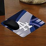 MLB Los Angeles Dodgers Carbon Fiber Mousepad, One Size, Multicolor