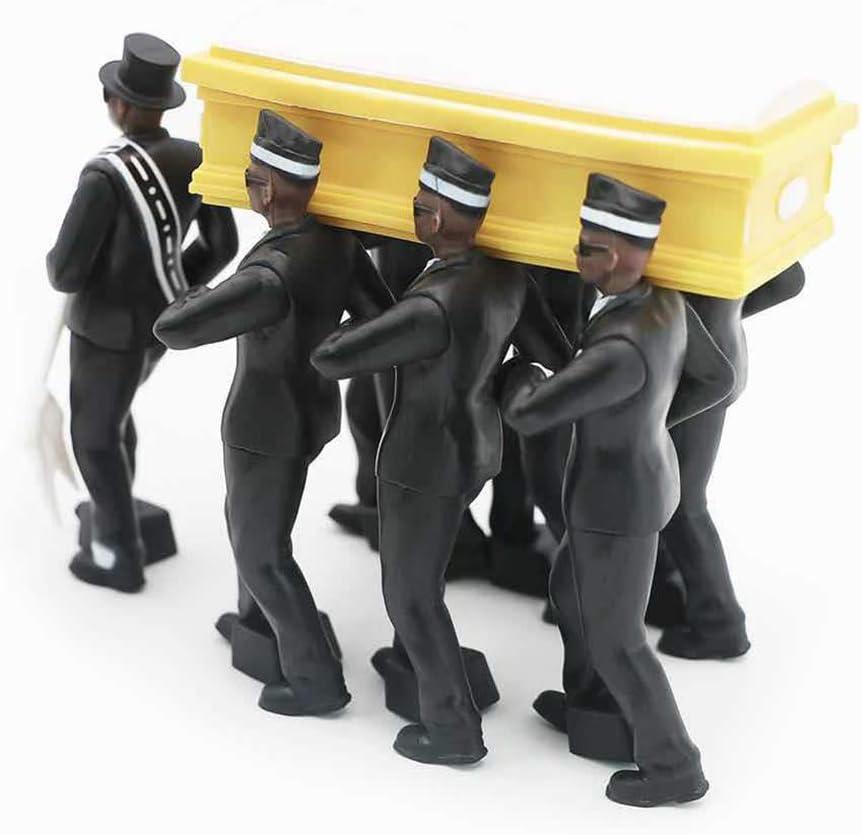 Mikiya Cosplay Ghana Tanzen Sargtr/äger Coin Tanz Abbildung Aon Funeral-Team anzeigen Luig Zubeh/ör