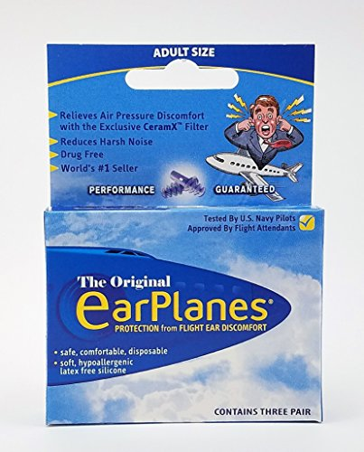 EarPlanes Ear Plugs Pair Pack product image