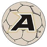 Fanmats NCAA US Military Academy Black Knights Nylon Face Soccer Ball Rug