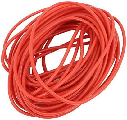15Ft 22AWG Red Gauge Flexible Stranded Copper Cable Silicone Wire for RC by Ucland