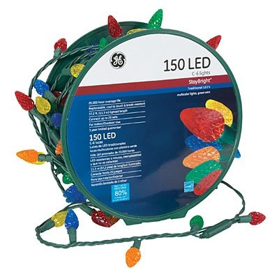 Ge Led Christmas Lights 150