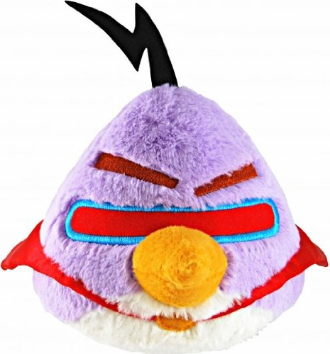 Angry Birds Space 16-Inch Purple Bird with (Angry Birds Lazer Bird)