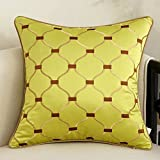 DXG&FX European-style embroidered sofa cushions pillow bedside by pillow huge pillows-D 50x50cm(20x20inch)