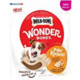 Milk-Bone Wonder Bones Paw Rockers with Real Chicken, Long Lasting Dog Treats, Mini, 22 oz Pouch