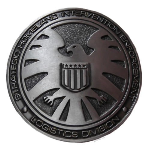 Marvel Comics AGENTS OF SHIELD Pewter Finish Metal BELT ()