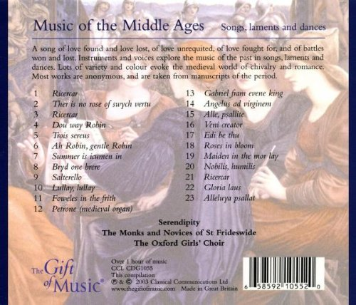 Music of the Middle Ages: Songs, Laments and Dances