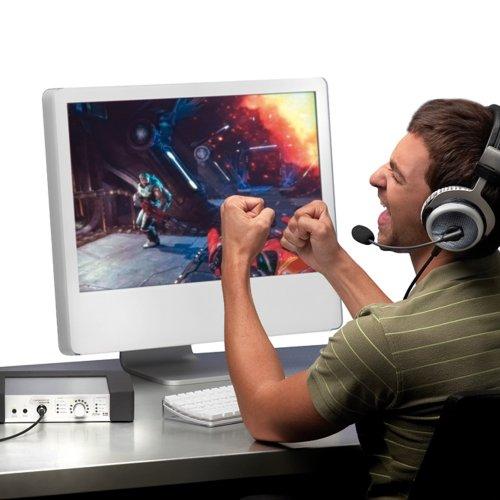Beyerdynamic Headzone PC Gaming Digital Surround Sound System with MMX300 Digital Headset with Microphone