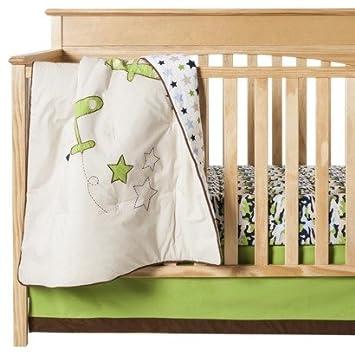 Bacati Camo Air 10 Piece Crib Set without Bumper Pad