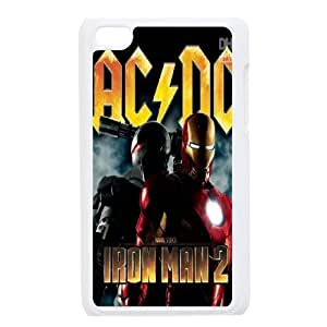 High Quality Phone Back Case Pattern Design 4AC/DC,Rock Band Series- FOR IPod Touch 4th