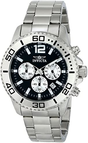 Invicta Men s 17396 Pro Diver Analog Display Japanese Quartz Silver Watch