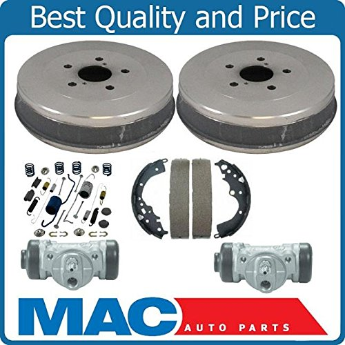 - 100% New Rear Drums Shoes Spring Kit Wheel Cylinders for Toyota Sienna 6pc 04-10
