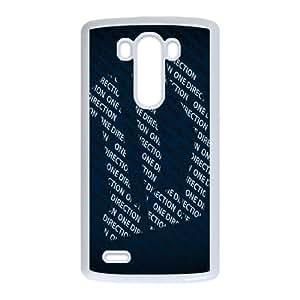 1D--One-Direction-logo LG G3 Cell Phone Case White Atpkx
