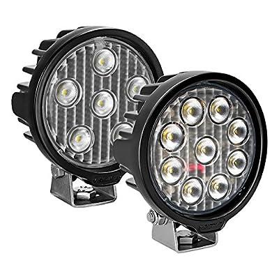 Vision X Lighting Vlr050940 One Size Vl- Series Work Light (Round/Nine 5-Watt Leds/40 Degree Flood Pattern): Automotive [5Bkhe0808662]