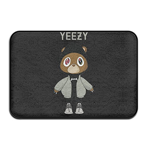 Price comparison product image Adhra Lucky Yeezy Kanye West Bear Doormats / Entrance Rug Floor Mats
