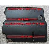 Eckler's Premier Quality Products 25213551 Corvette Fuel Rail Cover Letter Kit Black