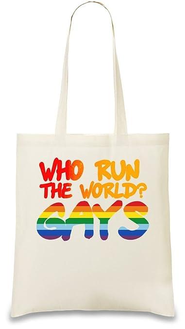 Amazon.com: Orgullo Gay personalizado impreso bolsa bag| 100 ...
