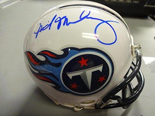 Signed Titans Mini Helmet (DA'NORRIS SEARCY HEAD COACH TENNESSE TITANS SIGNED AUTOGRAPHED MINI HELMET W/COA)