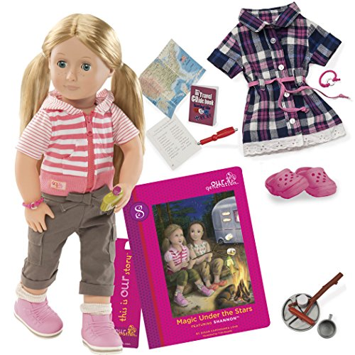 Our Generation Magic Under the Stars with Book, Socks, Outfit, Doll (23 Pieces)