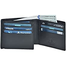 Clifton Heritage Handmade Mens Genuine Leather Wallets Money Clips Card Cases