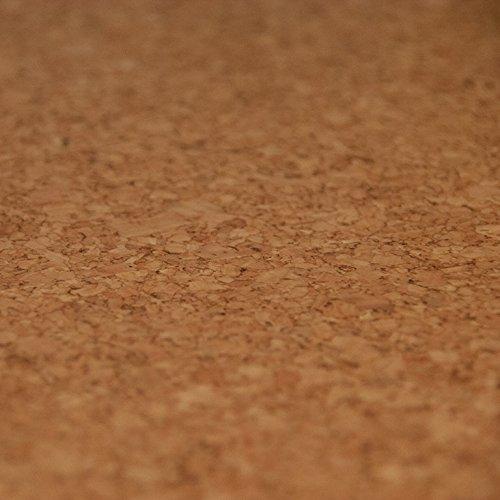 CORCASA Korkboden fein strukturiert lackiert Klicksystem warmer Kork Bodenbelag Klick Gobi