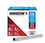 Arrow Fastener 504IP 1/4-Inch Genuine T50 Staples, 5,000-Pack