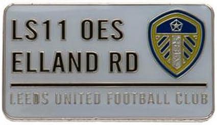 Club Licensed Leeds United F.C. Plaque de Rue Badge à
