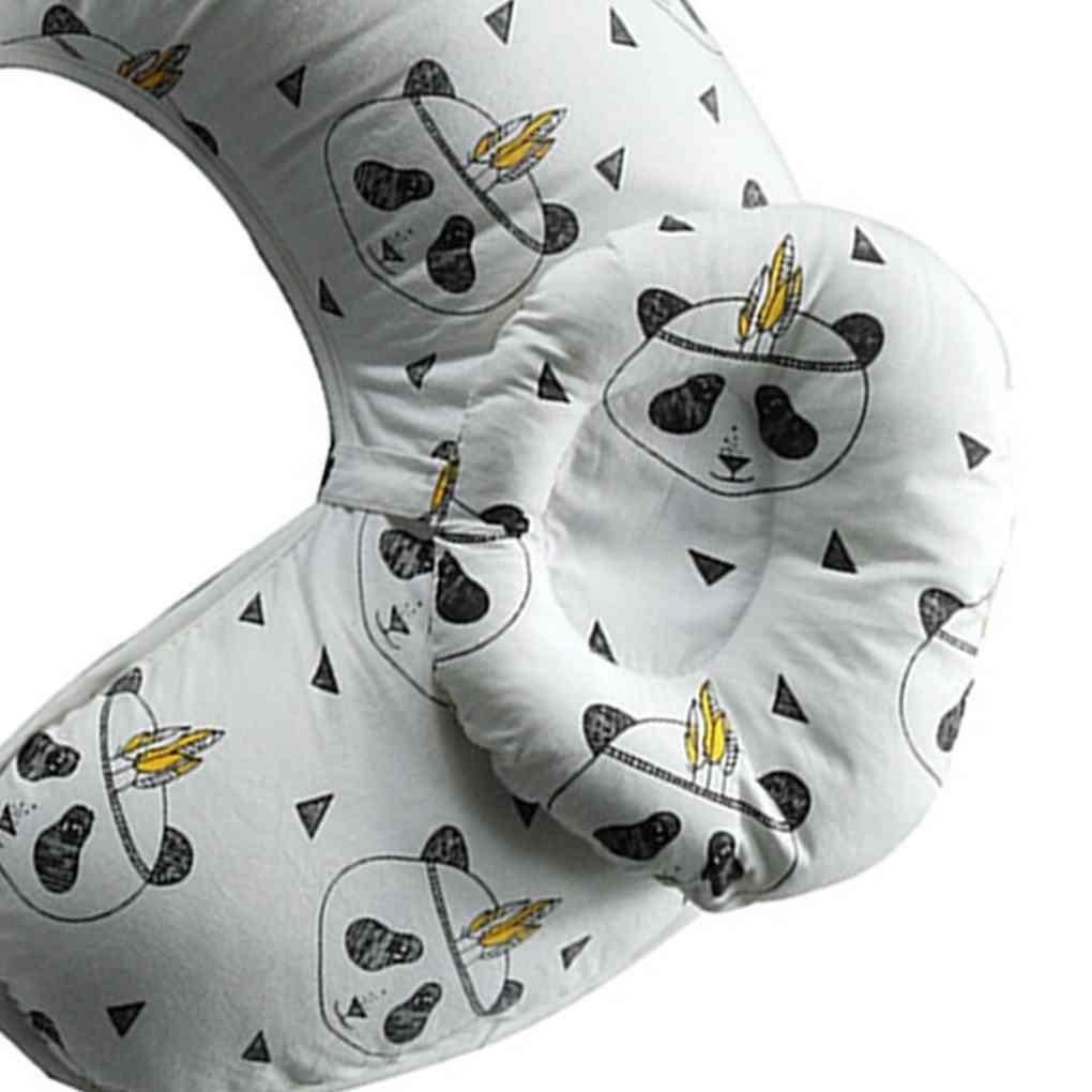 Arichtop 2pcs Multifunction Nursing Pillow Maternity U-Shaped Breastfeeding Cotton Feeding Waist Support Cushion