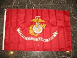 Marine Corps Usmc Marines 3X5 Ft Rough Knitted Flag House Banner