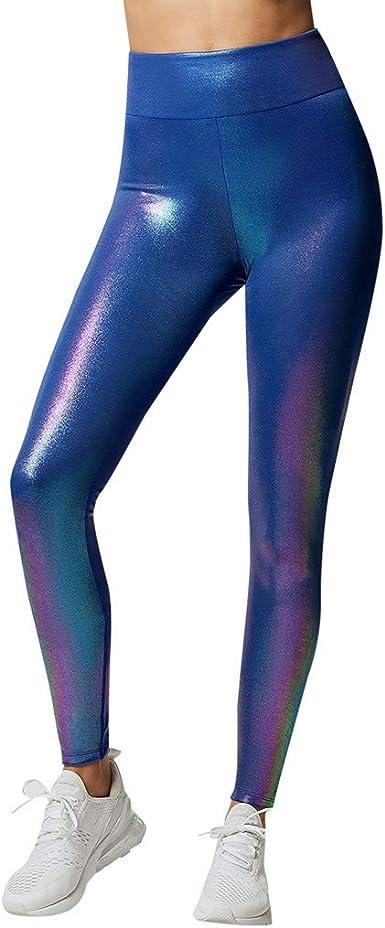 Pantalones Mujer Largos Deporte Verano Running Yoga Paolian Leggins Vestir Pitillo Pantalones Chandal Elasticos Cintura Alto Baratos Brillante Amazon Es Ropa Y Accesorios