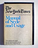 The New York Times Manual of Style and Usage, Lewis Jordan, 0812905784
